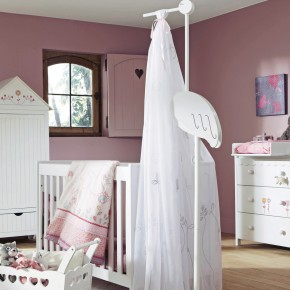 11 Fantastic Baby Nursery Design Ideas by Vertbaudet Purple Wall