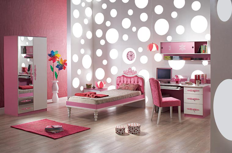 pics photos pink fun girls bedroom