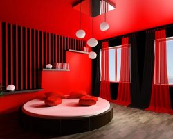 20 Hot Red Interior Design Ideas