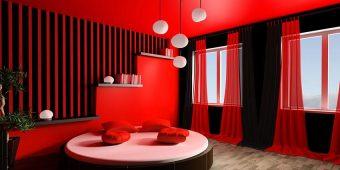 20 Hot Red Interior Design Ideas