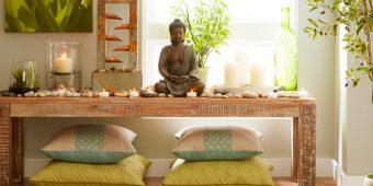 20 Calming Meditation Rooms