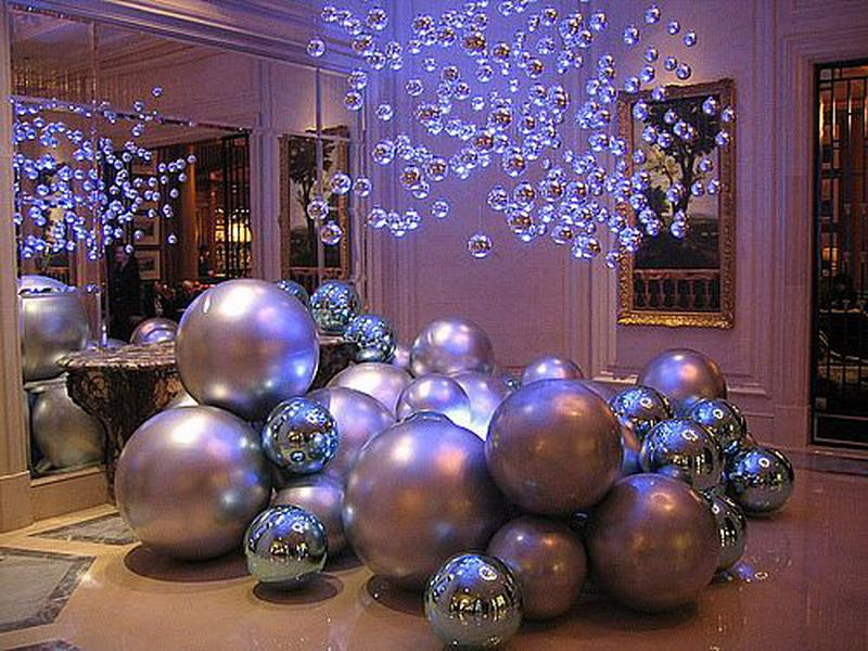Christmas decorations 2013 modern world furnishing designer for Modern christmas decor