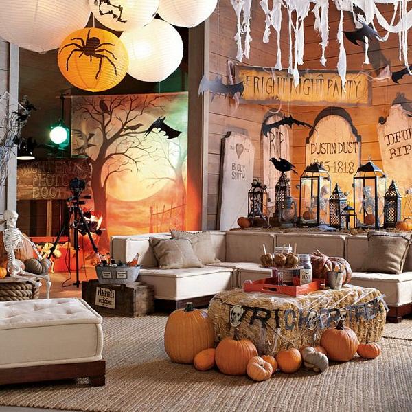 Modern Halloween Decor: 25 Halloween Decorating Ideas For 2013-1