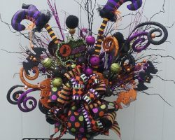 20 Halloween Flower Arrangement Ideas