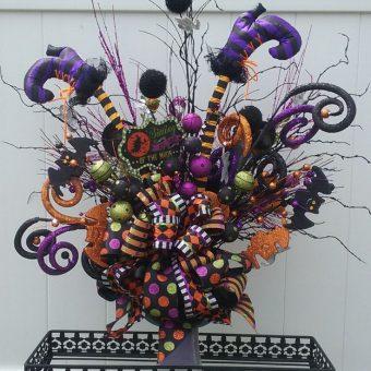 20 Halloween Flower Arrangement Ideas