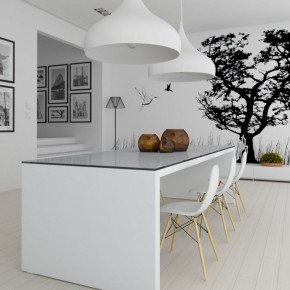 3 Black And White Kitchen 665x940  Black & White Interiors  Picture  17