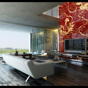 3 Living By Deguff  10 Rooms That Are Designed Around Televisions  Pict  3