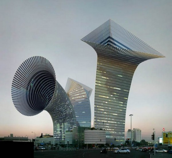 Amazing Futuristic 3D Architecture Illustrations by Victor Enrich