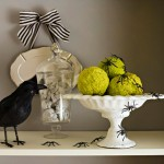 50 Awesome Halloween Decorating Ideas Fireplace Crow
