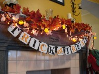 50 Awesome Halloween Decorating Ideas Fireplace Leaf Decor