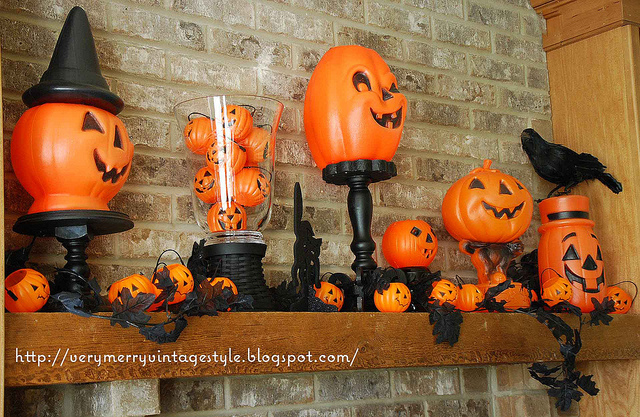 50 awesome halloween decorating ideas fireplace cool for Awesome halloween decoration ideas