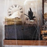 50 Awesome Halloween Decorating Ideas Fireplace Cobwebs