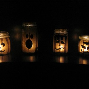 50 Awesome Halloween Decorating Ideas Fireplace Dark Lght Pumpkins
