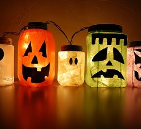 50 Awesome Halloween Decorating Ideas fireplace Hot Pumpkins
