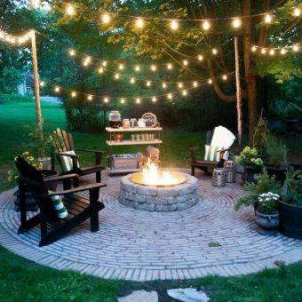 20 Backyard Fire Pit Ideas