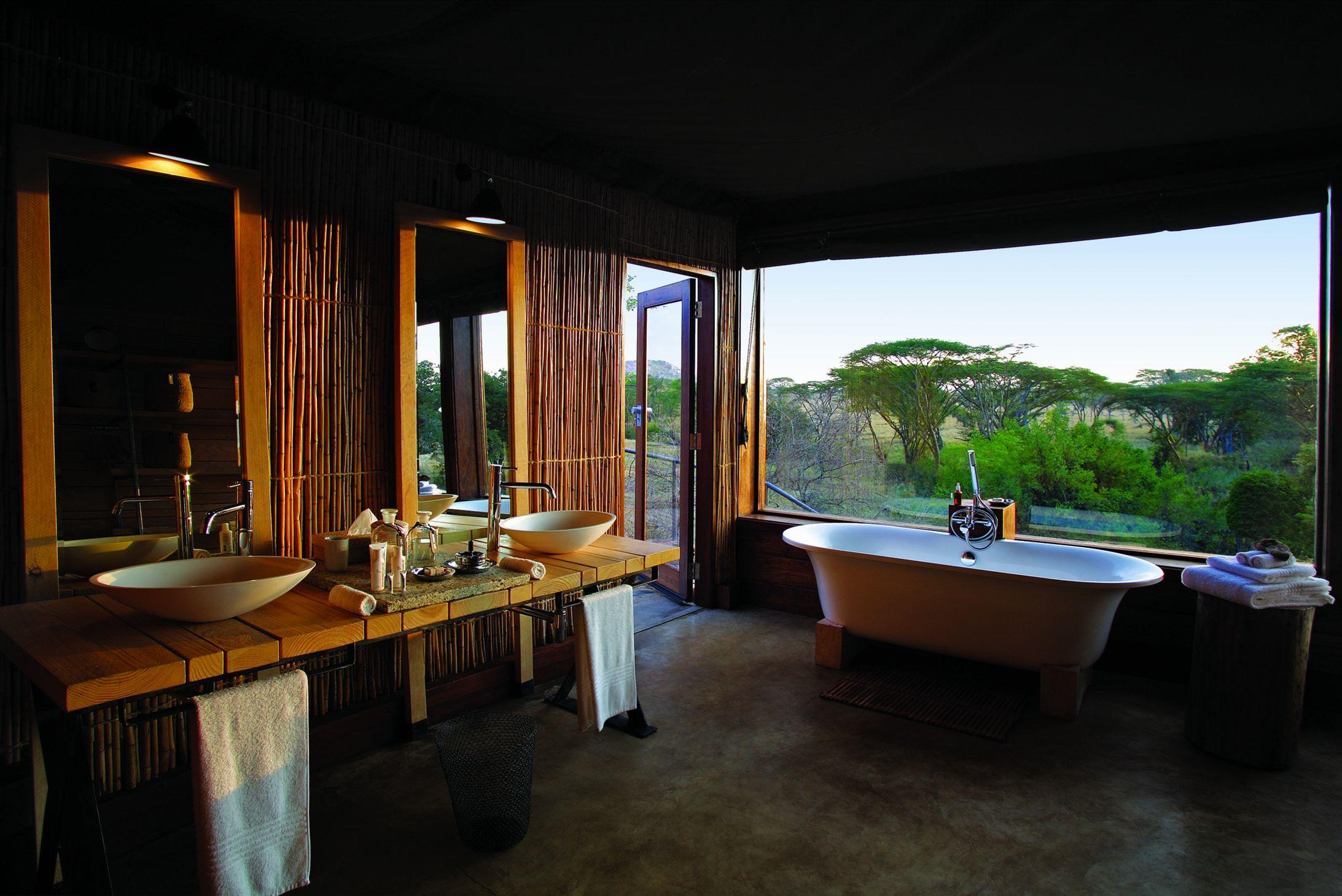 A Wild Bathroom Interior Design Center Inspiration