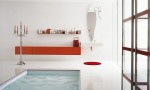 Amazing Bathroom Ideas White Wall Floor Jacuzi