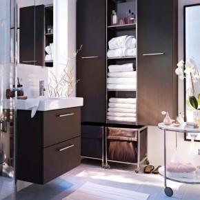 Bathroom Design Ideas 2012 by IKEA Cabinet Clean Fresh