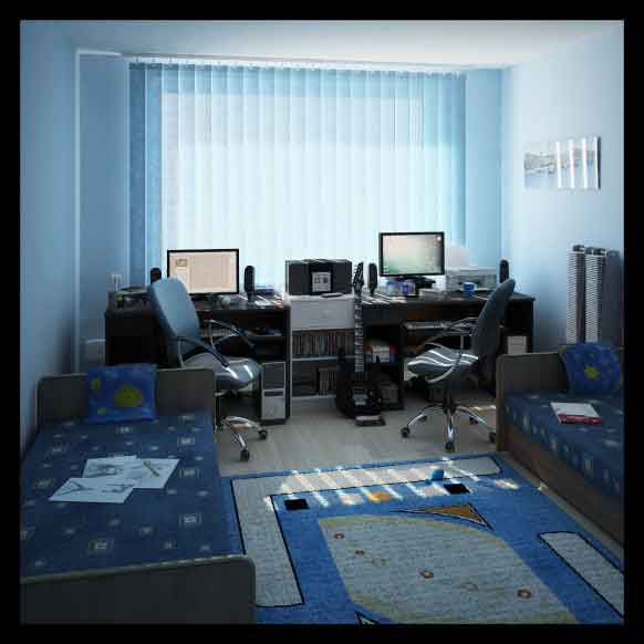 Bedroom Study Inspiration