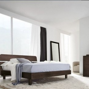 Bright Beautiful Modern Style Bedroom Designs White Wall Thick White Carpet