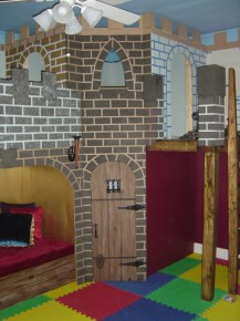 Castle Playroom Corner View