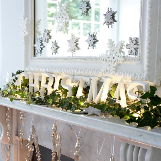 28 Fresh Christmas Decorating Ideas Christmas Fireplace Decorating ...