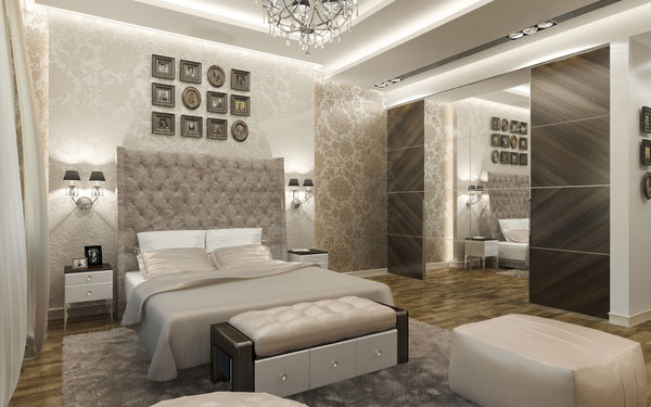 Contemporary bedroom ideas for couples 4 interior design for Bedroom ideas for small rooms for couples