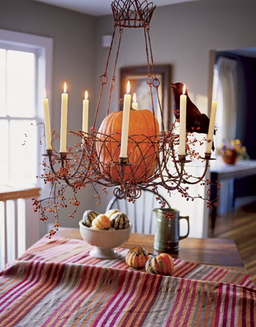 20 Fall Chandelier Decoration Ideas