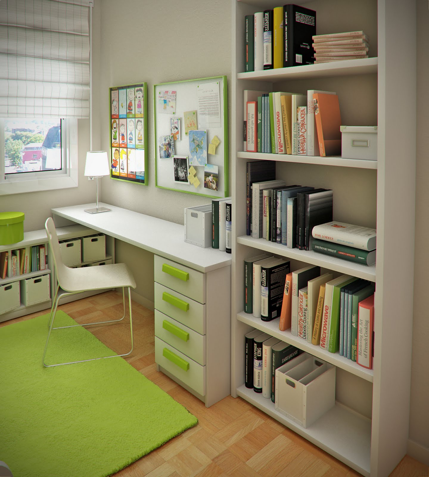 Design Ideas : Small Floorspace Kids Rooms