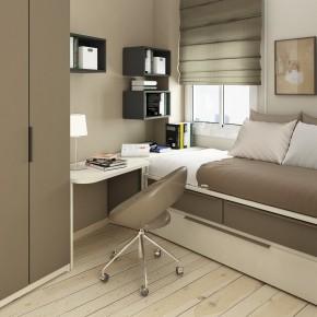 Design Ideas Small Floorspace Kids Rooms Modern Grey