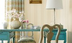 Design Interior French Country Fresh Cream Wall Dining Room