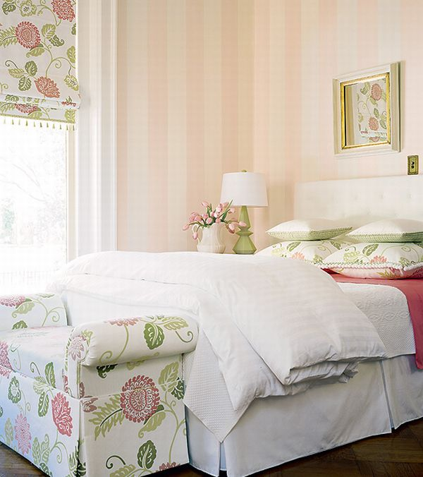 Design Interior French Country White Fresh Bedroom