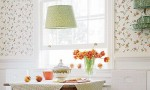 Design Interior French Country Retro White Floral White Windows
