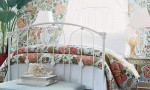 Design Interior French Country Bright White Floral Combination