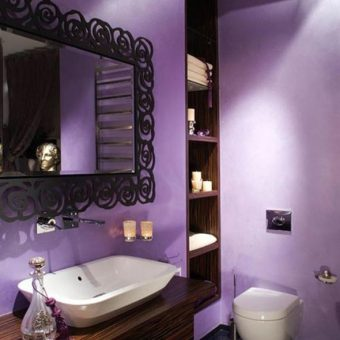 20 Lavender Bathroom Ideas