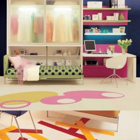 Fresh Teen Rooms Design for Small Space