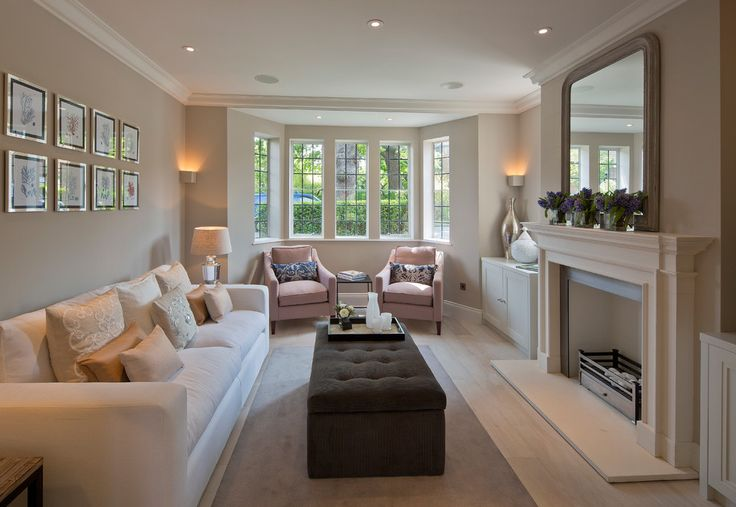 How To Decorate A Rectangular Living Room With Fireplace Interior Design Center Inspiration