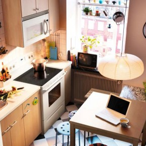 Kitchen Design Ideas 2012 by IKEA Brown Wall Small Space
