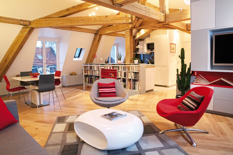 Sophisticated Le Loft Des Innocents by Renowned Frédéric Flanquart