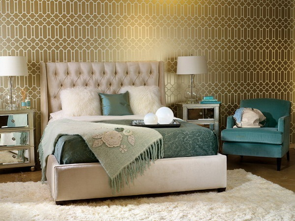 Master bedroom wallpaper ideas 12 interior design center - Wallpaper ideas for bedroom ...