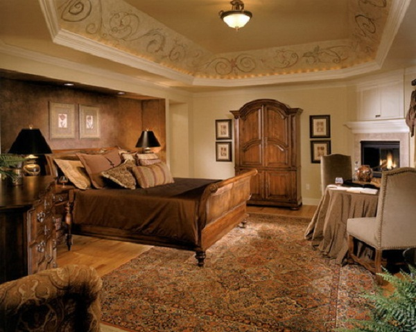 Master bedroom wallpaper ideas 16 interior design center for Wallpaper ideas for master bedroom