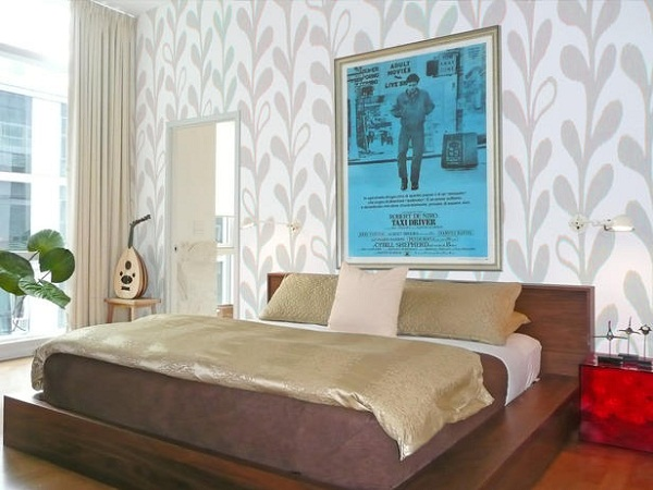 Master bedroom wallpaper ideas 22 interior design center for Wallpaper ideas for master bedroom