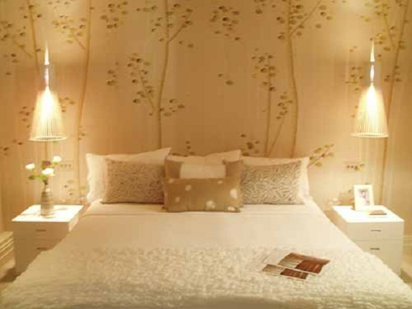 Master bedroom wallpaper ideas 5 interior design center for Wallpaper decoration for bedroom