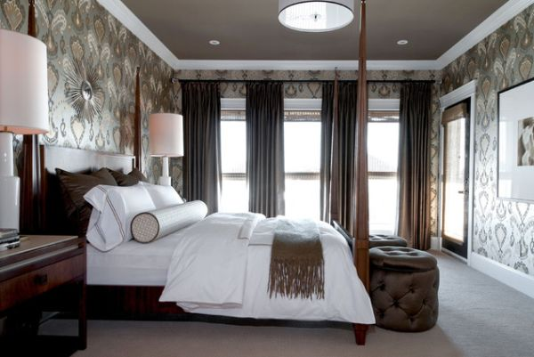 Master bedroom wallpaper ideas 9 interior design center for Wallpaper ideas for master bedroom