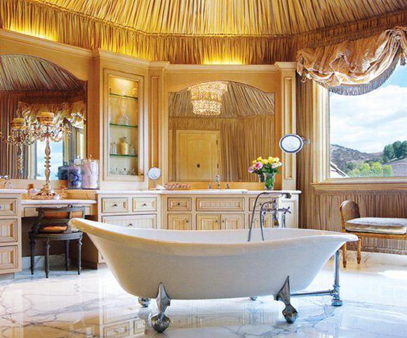 Warm Modern Bathroom Design : Modern bathroom designs interior design center inspiration