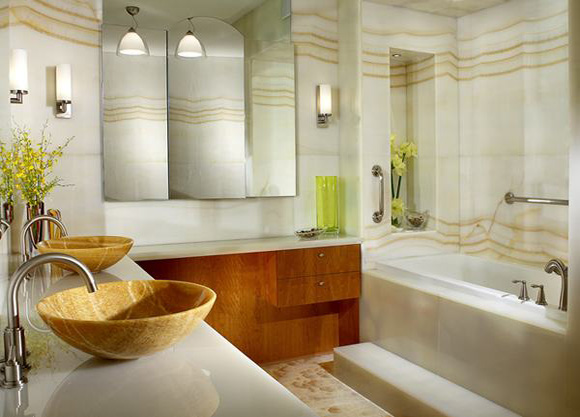 Modern bathroom designs 006 interior design center inspiration - New bathrooms designs trends ...