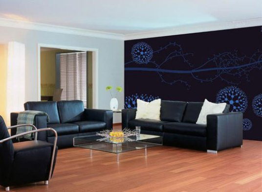 Wall Paper Decoration Design : Modern wall paper decoration ideas interior design