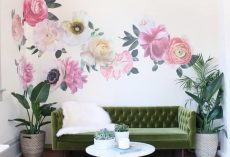 20 Flower Wallpaper Ideas for the Living Room