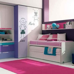 Pink-Combination-Purple-Teen-Girls-Bedroom