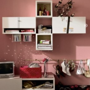 Pink Simple Cool and Trendy Teen Room Design Ideas
